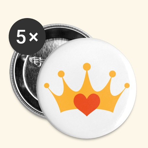 TWECrown - Buttons small 1''/25 mm (5-pack)
