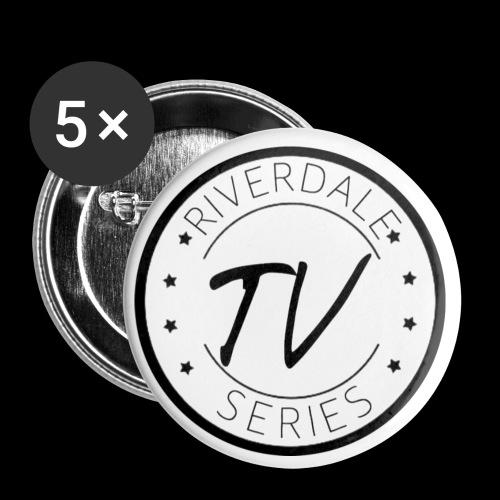 Riverdale TV séries Logo - Lot de 5 petits badges (25 mm)