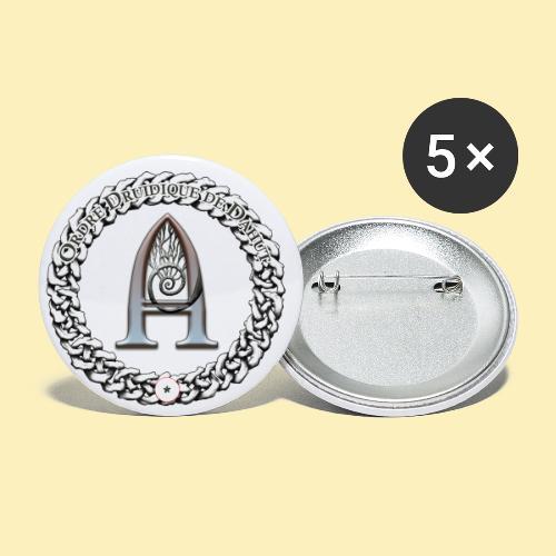 Logo d'Arantelle - Lot de 5 petits badges (25 mm)