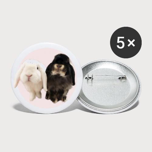 Amour and Louie - Buttons klein 25 mm (5er Pack)