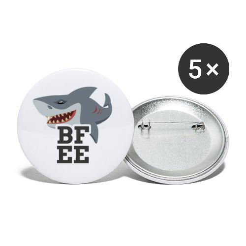 BFEE logo - Buttons small 1''/25 mm (5-pack)