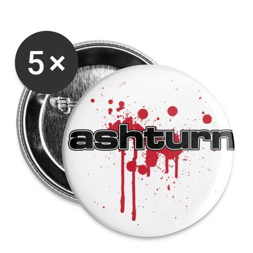 blood - Buttons klein 25 mm (5-pack)