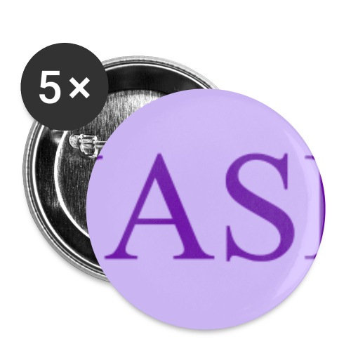 WASPI Purple - Buttons small 1''/25 mm (5-pack)