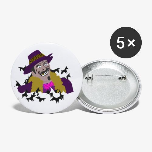 Gifts of the Gaff - Buttons small 1''/25 mm (5-pack)