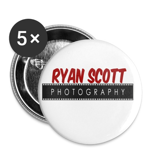 RSPHOTOLOGO - Buttons small 1''/25 mm (5-pack)