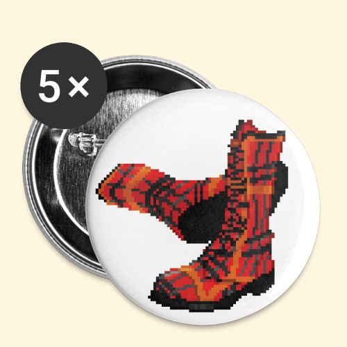 Rock and Shoes - Rock'n'll Shoes - Badge petit 25 mm