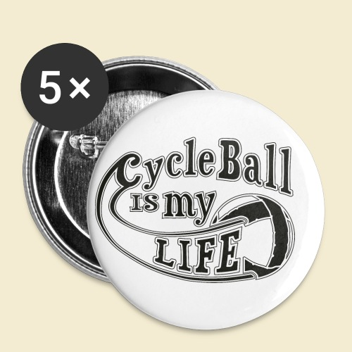 Radball | Cycle Ball is my Life - Buttons klein 25 mm