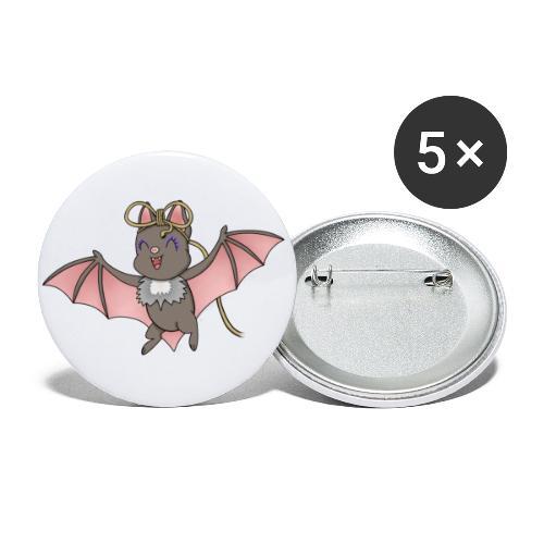 Bat Deeley - Buttons small 1''/25 mm (5-pack)