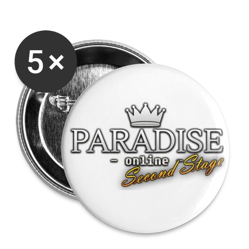 Paradise Online: Second Stage - Buttons klein 25 mm (5-pack)