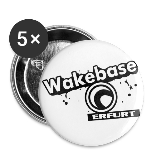 Wakebase Erfurt Digital - Buttons klein 25 mm (5er Pack)