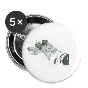 grand danios harlequin - Buttons/Badges lille, 25 mm