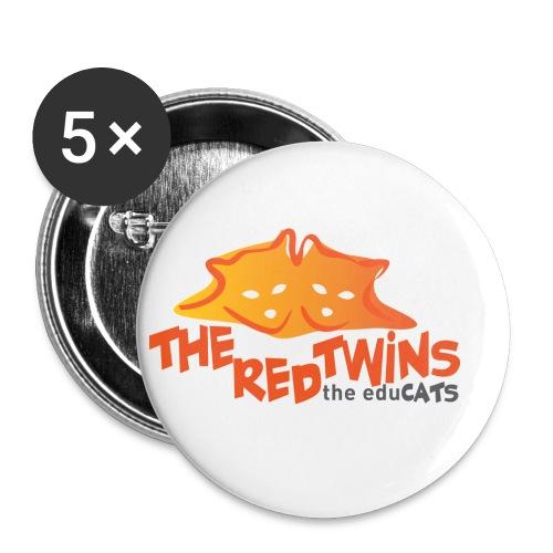TRT Logo - Confezione da 5 spille piccole (25 mm)