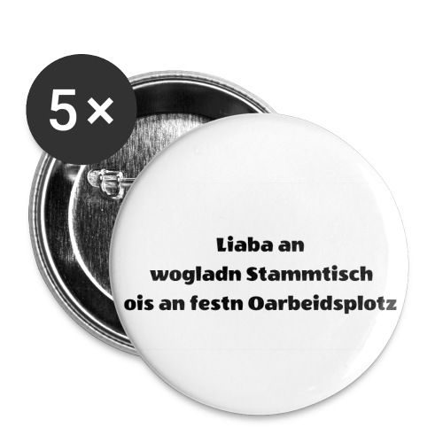 Wiena Wear - Buttons klein 25 mm (5er Pack)