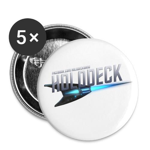 Schifflogo - Buttons klein 25 mm (5er Pack)