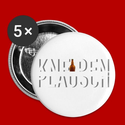 Kneipenplausch Big Edition - Buttons klein 25 mm (5er Pack)