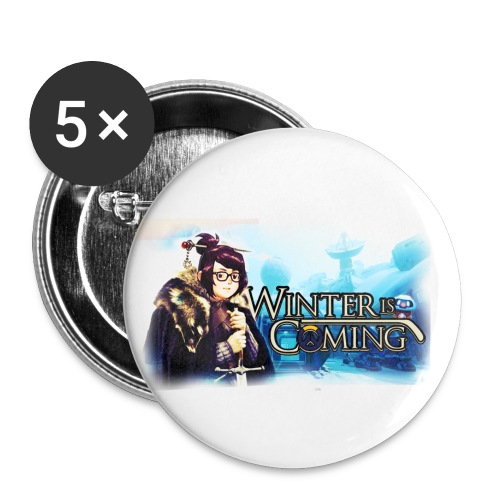 Overwatch and GameOfThrones Fusion - Buttons small 1''/25 mm (5-pack)