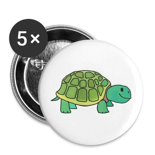 Sammie Schildpad - Buttons klein 25 mm (5-pack)