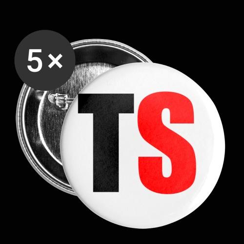 TS Buttons - Buttons klein 25 mm (5-pack)
