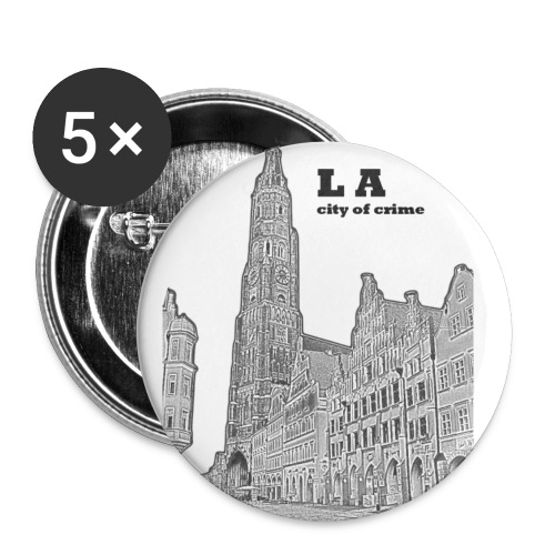 landshoodoidstod - Buttons klein 25 mm (5er Pack)
