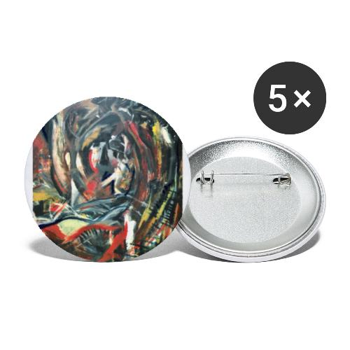 Expressionism 1997 - Buttons small 1''/25 mm (5-pack)