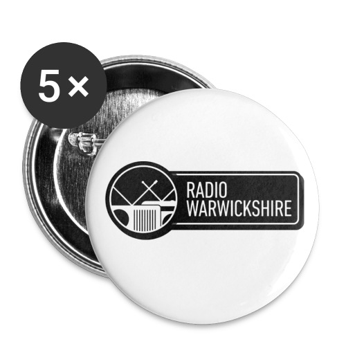RW tshirt png - Buttons small 1''/25 mm (5-pack)