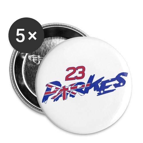 Parkes 23 Logo Refix - Buttons small 1''/25 mm (5-pack)