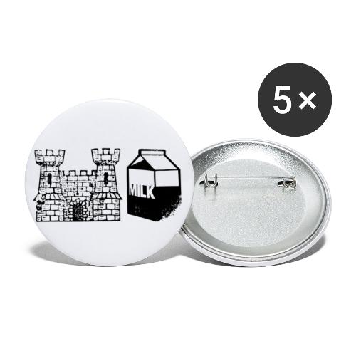 Castlemilk - Buttons small 1''/25 mm (5-pack)