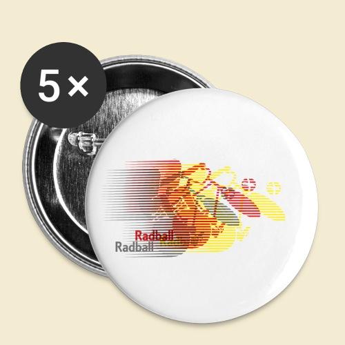 Radball | Earthquake Germany - Buttons klein 25 mm