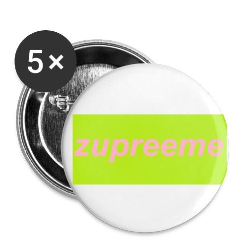 <<<<<>>>>> - Små knappar 25 mm (5-pack)