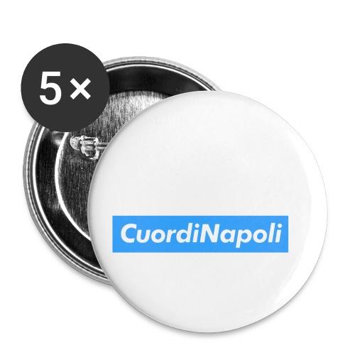 CuordiNapoli Young - Confezione da 5 spille piccole (25 mm)