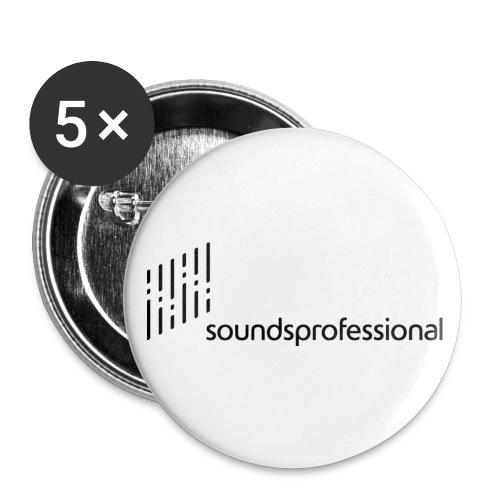 splogoschriftpixl - Buttons klein 25 mm (5er Pack)