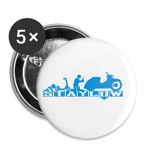 STAYLOW Bier - Buttons klein 25 mm (5er Pack)