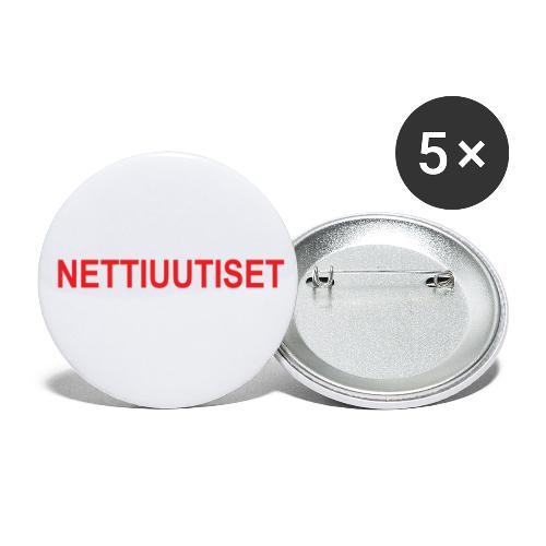 NETTIUUTISET - Rintamerkit pienet 25 mm (5kpl pakkauksessa)