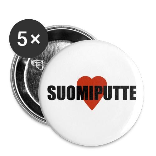 suomiputte - Rintamerkit pienet 25 mm (5kpl pakkauksessa)