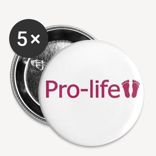 PRO-LIFE - Buttons small 1''/25 mm (5-pack)