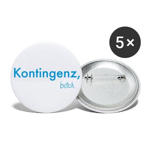 Kontingenz bitch Luhmann - Buttons klein 25 mm (5er Pack)