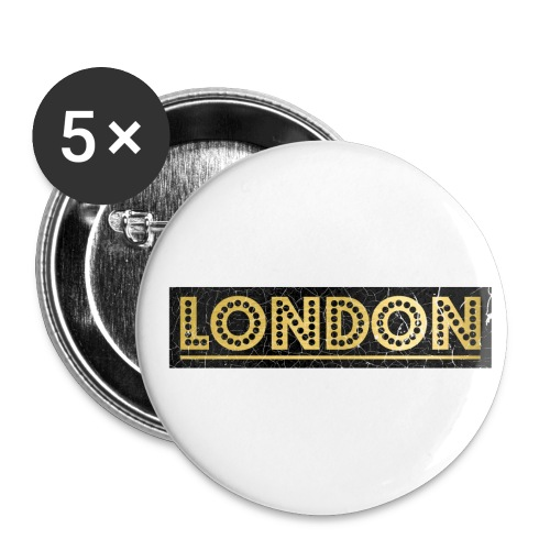 LONDON - Buttons small 1''/25 mm (5-pack)