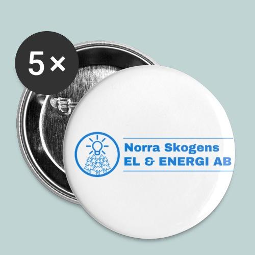 NSEEAB - SHOP - Små knappar 25 mm (5-pack)