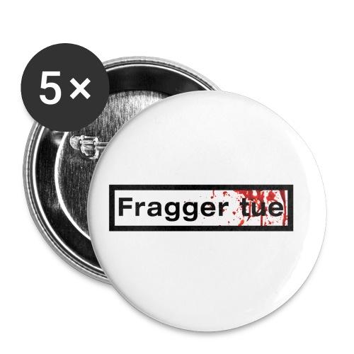 TshirtNF_FraggerTue - Lot de 5 petits badges (25 mm)