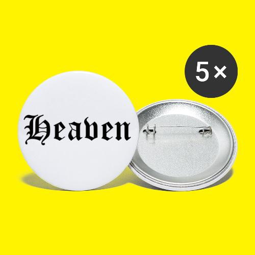 Heaven - Buttons small 1''/25 mm (5-pack)