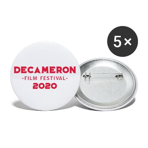 DECAMERON Film Festival 2020 - Buttons small 1''/25 mm (5-pack)