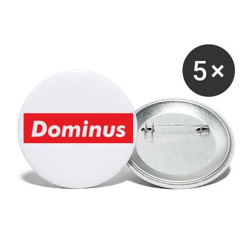 Rocket Dominus League 00327 - Paquete de 5 chapas pequeñas (25 mm)