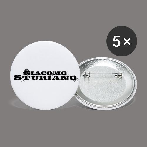 Giacomo Sturiano - Buttons klein 25 mm (5er Pack)