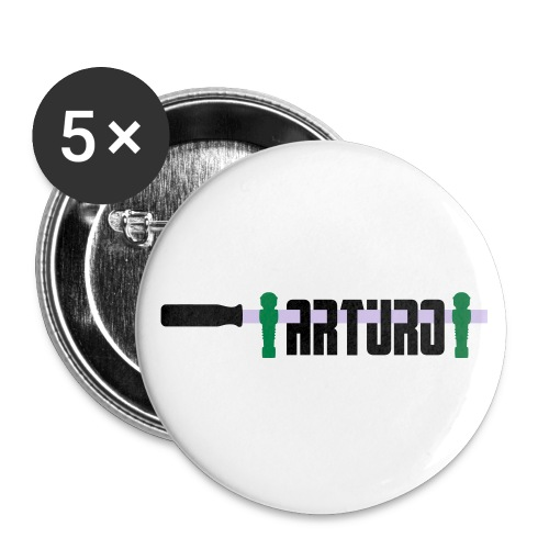 arturo - Buttons klein 25 mm (5-pack)
