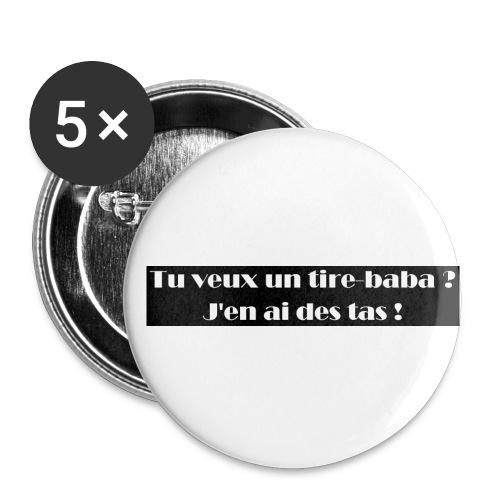 Ariel - Lot de 5 petits badges (25 mm)