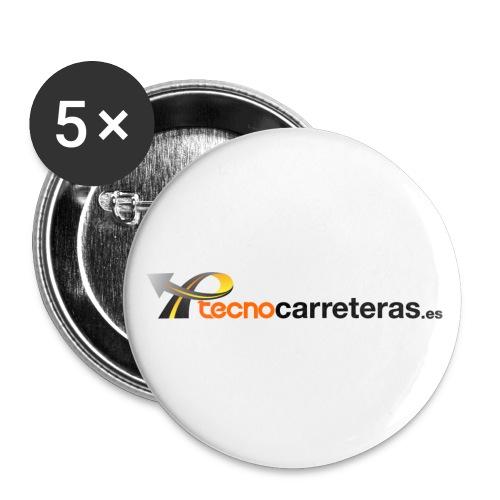 Tecnocarreteras - Paquete de 5 chapas pequeñas (25 mm)