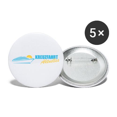 Kreuzfahrt Aktuelles - Buttons klein 25 mm (5er Pack)