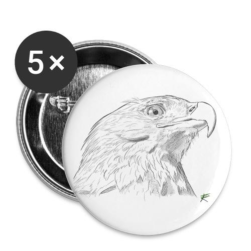 Aquila - Confezione da 5 spille piccole (25 mm)