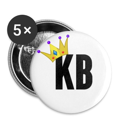KingBlyc 1 - Buttons small 1''/25 mm (5-pack)