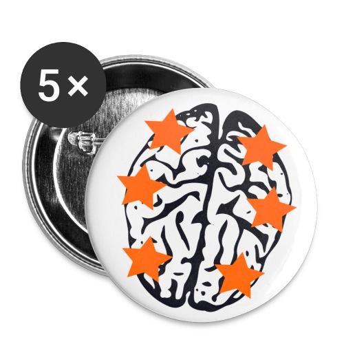 Costellato png - Confezione da 5 spille piccole (25 mm)